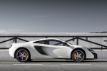 2015 McLaren 650S Coupe in White - Static Side View