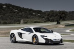 2015 McLaren 650S Coupe in White - Static Front Right Three-quarter View