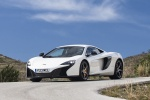 2015 McLaren 650S Coupe in White - Static Front Left Three-quarter View