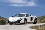 2016 McLaren 650S Coupe in White - Static Front Left Three-quarter View