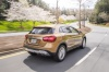 Driving 2019 Mercedes-Benz GLA 250 4MATIC from a rear right view
