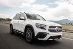 2020 Mercedes-Benz GLB 250 in Polar White - Driving Front Right View