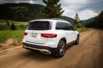 2020 Mercedes-Benz GLB 250 in Polar White - Driving Rear Right View