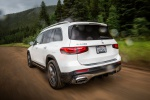 2020 Mercedes-Benz GLB 250 in Polar White - Driving Rear Left View