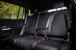 2020 Mercedes-Benz GLB 250 Rear Seats in Black