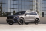 2020 Mercedes-Benz GLB 250 4MATIC in Mountain Gray Metallic - Static Front Left Three-quarter View