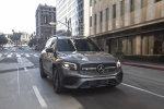2020 Mercedes-Benz GLB 250 4MATIC in Mountain Gray Metallic - Driving Front Right View