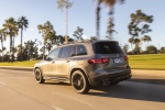2020 Mercedes-Benz GLB 250 4MATIC in Mountain Gray Metallic - Driving Rear Left Three-quarter View