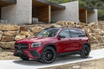 2020 Mercedes-Benz GLB 250 in Patagonia Red Metallic - Static Front Left Three-quarter View