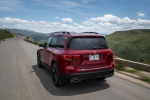 2020 Mercedes-Benz GLB 250 in Patagonia Red Metallic - Driving Rear Left View
