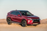 2020 Mitsubishi Eclipse Cross SEL S-AWC in Red Diamond - Static Front Right Three-quarter View