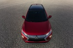2020 Mitsubishi Eclipse Cross SEL S-AWC in Red Diamond - Static Frontal Top View