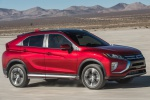 2020 Mitsubishi Eclipse Cross SEL S-AWC in Red Diamond - Driving Front Right Three-quarter View