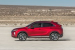 2020 Mitsubishi Eclipse Cross SEL S-AWC in Red Diamond - Driving Left Side View
