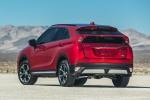 2020 Mitsubishi Eclipse Cross SEL S-AWC in Red Diamond - Static Rear Left View
