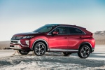 2020 Mitsubishi Eclipse Cross SEL S-AWC in Red Diamond - Static Left Side View