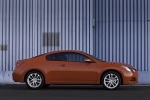 2010 Nissan Altima Coupe 3.5 SR in Red Alert - Static Side View
