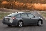 2010 Nissan Altima Hybrid in Dark Slate Metallic - Static Rear Right Three-quarter View