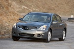 2010 Nissan Altima Hybrid in Dark Slate Metallic - Driving Front Left View