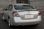 2010 Nissan Altima 3.5 SR in Radiant Silver Metallic - Static Rear Left View