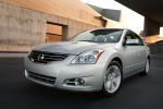 2010 Nissan Altima 3.5 SR in Radiant Silver Metallic - Driving Front Left View