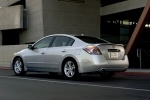 2011 Nissan Altima 3.5 SR in Radiant Silver Metallic - Static Rear Left Three-quarter View