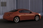 2012 Nissan Altima Coupe 3.5 SR in Red Alert - Static Rear Right Three-quarter View