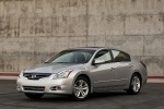 2012 Nissan Altima 3.5 SR in Brilliant Silver Metallic - Static Front Left Three-quarter View