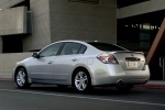 2012 Nissan Altima 3.5 SR in Brilliant Silver Metallic - Static Rear Left Three-quarter View