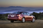2015 Nissan Altima Sedan 2.5 SV in Cayenne Red Metallic - Static Rear Right Three-quarter View