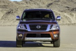 2019 Nissan Armada Platinum in Forged Copper - Static Frontal View
