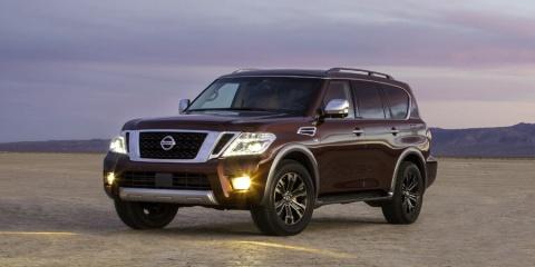 2019 Nissan Armada SV, SL, Platinum V8 4WD Review