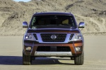 2020 Nissan Armada Platinum in Forged Copper Metallic - Static Frontal View
