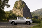 2010 Nissan Frontier King Cab PRO-4X 4WD in Radiant Silver - Static Side View