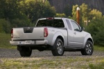 2011 Nissan Frontier King Cab PRO-4X 4WD in Radiant Silver - Rear Right Three-quarter Rear Right Three-quarter View