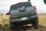 2011 Nissan Frontier Crew Cab PRO-4X 4WD in Night Armor - Driving Rear View