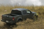 2011 Nissan Frontier Crew Cab PRO-4X 4WD in Night Armor - Driving Rear Right Three-quarter View