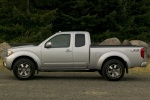 2013 Nissan Frontier King Cab PRO-4X 4WD in Brilliant Silver - Static Side View