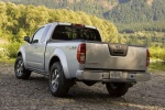2013 Nissan Frontier King Cab PRO-4X 4WD in Brilliant Silver - Static Rear Left View