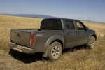 2013 Nissan Frontier Crew Cab PRO-4X 4WD in Night Armor - Driving Rear Right Three-quarter View
