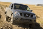 2013 Nissan Frontier Crew Cab PRO-4X 4WD in Night Armor - Driving Front Right View