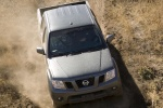 2013 Nissan Frontier Crew Cab PRO-4X 4WD in Night Armor - Driving Frontal Top View