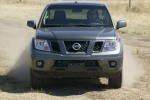 2013 Nissan Frontier Crew Cab PRO-4X 4WD in Night Armor - Driving Frontal View