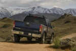 2013 Nissan Frontier Crew Cab PRO-4X 4WD in Navy Blue - Static Rear Right View