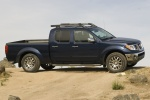 2013 Nissan Frontier Crew Cab PRO-4X 4WD in Navy Blue - Static Side View