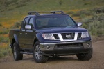 2013 Nissan Frontier Crew Cab PRO-4X 4WD in Navy Blue - Static Front Right View