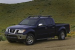 2013 Nissan Frontier Crew Cab PRO-4X 4WD in Navy Blue - Static Front Left Three-quarter View