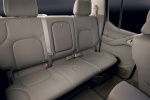 2013 Nissan Frontier Crew Cab PRO-4X 4WD Rear Seats