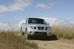 2013 Nissan Frontier King Cab PRO-4X 4WD in Brilliant Silver - Driving Front Right View