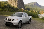 2013 Nissan Frontier King Cab PRO-4X 4WD in Brilliant Silver - Static Front Left Three-quarter View